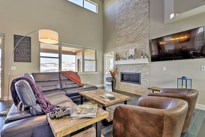 Nestled 3 miles from Granby Ranch, this vacation rental is ideal for families.