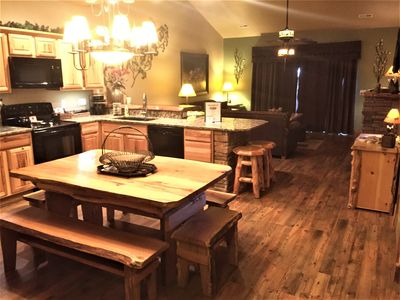 Photo for *3 BR, 2 Bath Lodge Cabin on Table Rock Lake with Dock Access