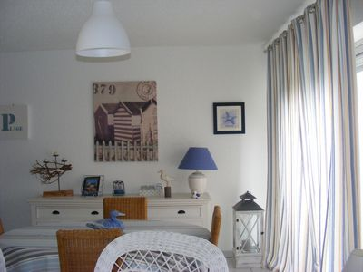 Photo for Bénodet: Charming apartment in ground garden furnished tourism 3 * star