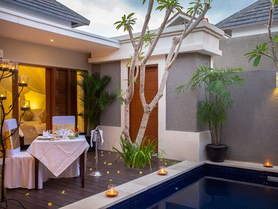 Photo for Luxury 1Br Villa At center seminyak with airport transfer