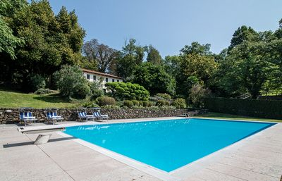 Swimming Pool and main House