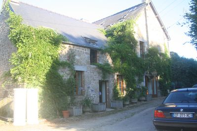 Front view of the Gite, leading straight on to fabulous country walks.