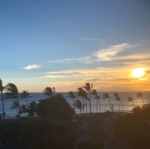 Sunset from your own private lanai