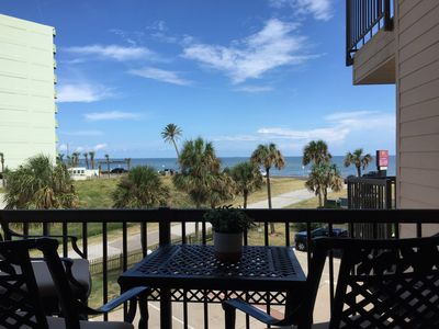 Photo for New Listing! Beautiful 1/1 Condo with Beach Views! Resort Pool & Hot Tub!
