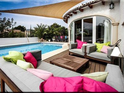 Photo for Casa Gusta, a beautiful villa with stunning pool and palm garden!