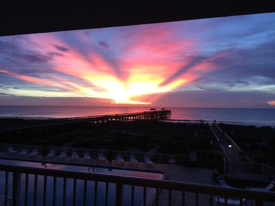 Photo for Oceanfront View with Private fishing Pier!!