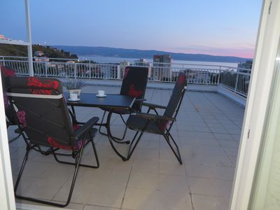 Photo for Spacious terrace with beautiful sea views