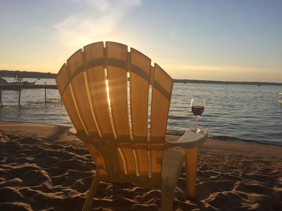 Large Otsego Lake Beach-Front Home - Gaylord