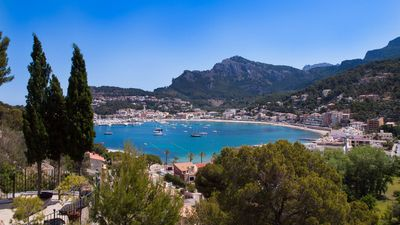 Photo for A unique stone house with spectacular views of the Bay of Sóller