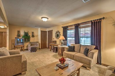 This spacious home for 4 offers 1,120 square feet of living space.
