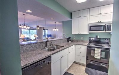 Photo for Monthly rate $3k. TWO- bedroom GOLF COURSE VILLA/ Snowbirds welcome