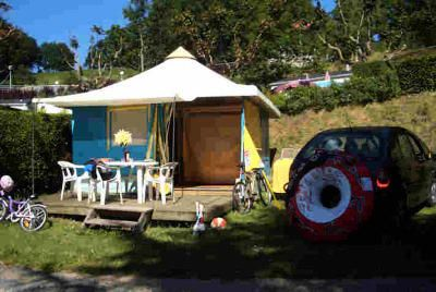 Photo for Camping Beau Rivage **** - Bengali Tent 3 Rooms 4 People