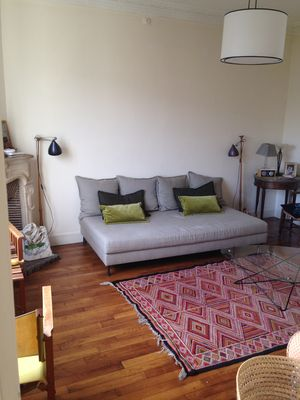 Photo for Sunny and quiet 90 m2 apartment on a private garden