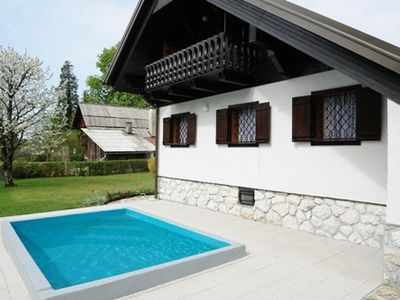 Photo for RIVERSIDE CHALET WITH POOL, GREAT LOCATION FOR ATTRACTIONS AND RELAX