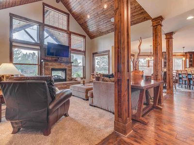 Photo for A beautiful, custom home with serene views of The Big Deschutes River!