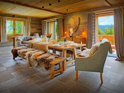 Photo for Luxury Les Gets ski chalet for 12 - hot tub, terrace, views - OVO Network