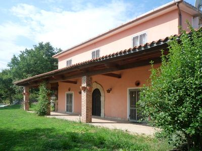 Photo for Magic Country-house with private pool on the border with the province of Salerno