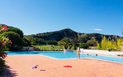 Photo for Conditioned cottage sleeps 6, garden, large pool, 5 minutes Vallon Pont d'Arc