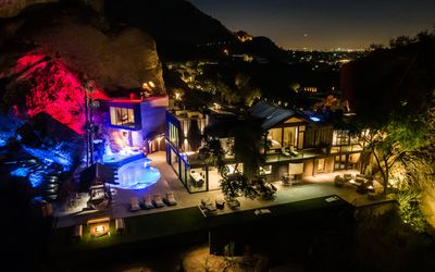 Photo for New! Hillside Tropical Oasis on Camelback Mtn! Crazy Views! Modern! REAL LUXURY!
