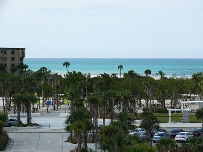 Photo for Our House at the Beach E-404 New W/D, panoramic beach view!!