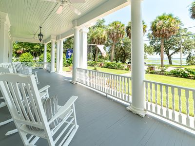 Photo for Stunning Water Views and Southern Hospitality in Historic Downtown Beaufort