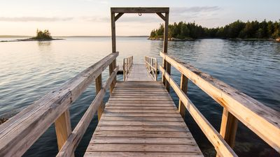 Photo for Secluded Site Offers Rustic Access To Stunning Water And Island Views, Privacy A