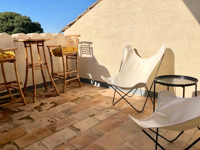 Photo for bright apartment with sunny terrace in the heart of the Duchy of Uzès