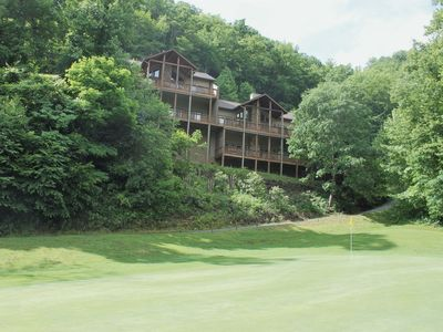 Photo for Large Luxury Condo in Smoky Mountain Country Club ($129/weekday thru October)