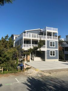 Photo for New Beach Home on Private Beach with Spacious Decks & Sweeping Ocean Views