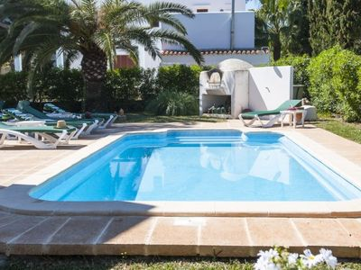 Photo for 6 bedroom Villa, sleeps 12 in Cala d'Or with Pool, Air Con and WiFi