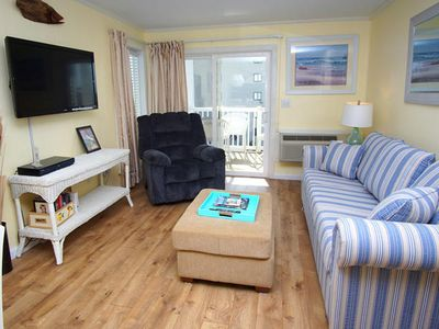 Photo for Ocean Pier IV 340 Lovely 2 Bedroom Condo with an Outdoor Swimming Pool and Ocean View