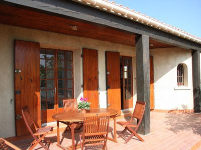 Photo for La Rocaille - Gite with stunning Minervois views