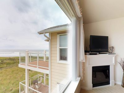 Photo for Dog-friendly, waterfront condo w/ocean views, shared pool & hot tub