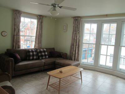 Photo for Family friendly modern apartment 50 meters from the beach