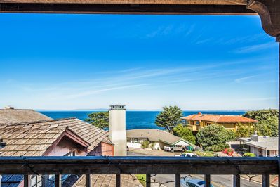 "~  - Welcome to ""Villa by the Sea""! Just steps to miles of oceanfront walking and biking trails."