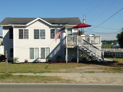 Photo for Great Views of Both Inlet & Ocean!  2BR/2BA - Pet Friendly UP Across from beach.