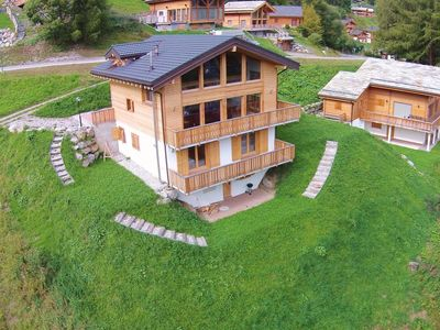 Photo for Outstanding, comfortable and charming chalet with open fireplace