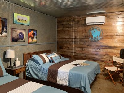 Photo for Sleeps 14, Great for Reunions ~ 4 Cabins at The Lazy Buffalo, near the Mountains