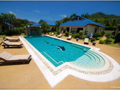 Photo for VILLA SWIMMING POOL TROPICAL GARDEN near BEACHES 3CH 3SDB 6/8 P Luxury Residence