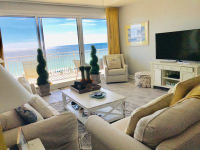 Photo for OCEAN VIEW AND HEATED POOL!  OUR LUXURY CONDO IS THE GEM OF DESTIN, NONE BETTER.
