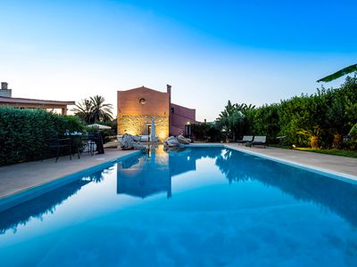 Photo for 8 bedroom Villa, sleeps 15 with Pool, Air Con and FREE WiFi