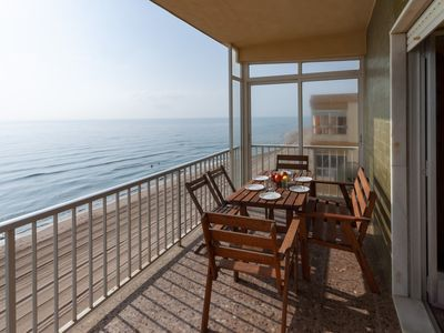 Photo for CHAMBERI - Apartment with sea views in Playa de Tavernes .