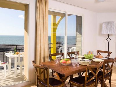 Photo for Residence Les Terrasses Beach *** - 2 Rooms + Cabin 6 People - Sea View