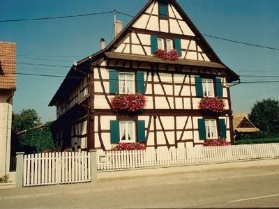 Photo for Central Alsace next to the Rhine, 620 inhabitants village, very quiet