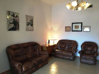 Photo for Apartment 1.3 km from the center of Pianillo with Parking, Internet, Garden, Terrace (119669)