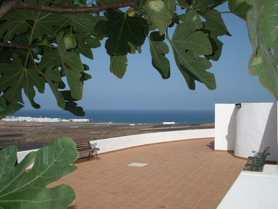Photo for Rural apartment near beach with lovely views.....