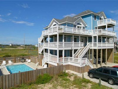 Photo for Trip Around the Sun OCEANVIEW in Hatteras w/Htd Pool&HotTub, RecRoom, Pets