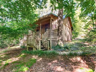 Photo for This quaint,  charming, cozy  relaxing, cottage.