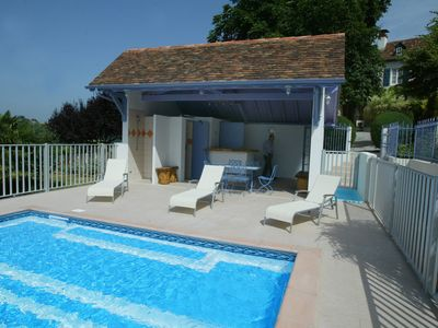 Photo for Maison Maitre Béarnaise 18 pers swimming pool, games room, reception, animals