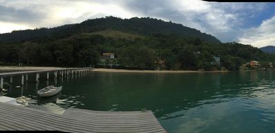 Photo for Angra dos Reis Condo with beach and jetty, easy access to island tours